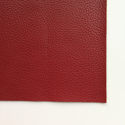 Oxblood Textured Faux Leather