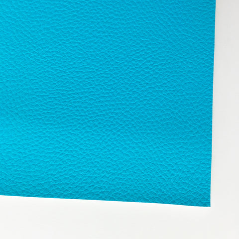 Aqua Textured Faux Leather