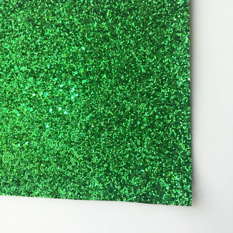 Green Premium Glitter Fabric Sheet