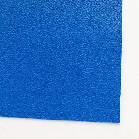 Cobalt Textured Faux Leather