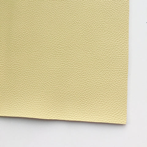 Buttercream Textured Faux Leather