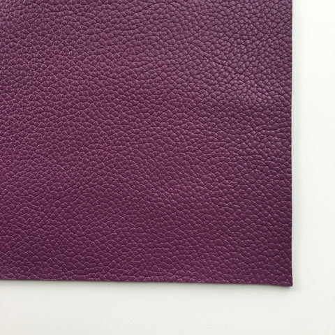 Grape Textured Faux Leather