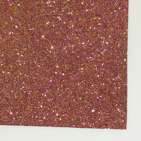 Maple Leaf Shimmer Premium Glitter Fabric Sheet
