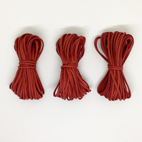 Oxblood Suede Cord