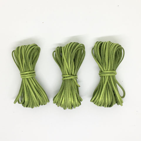 Pickle Sparkle Suede Cord