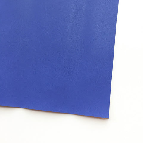 Cobalt Blue Vegan Faux Leather