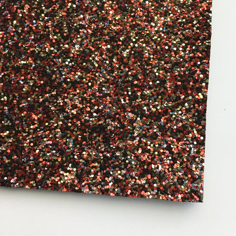 Queen of Hearts Specialty Glitter Fabric Sheet