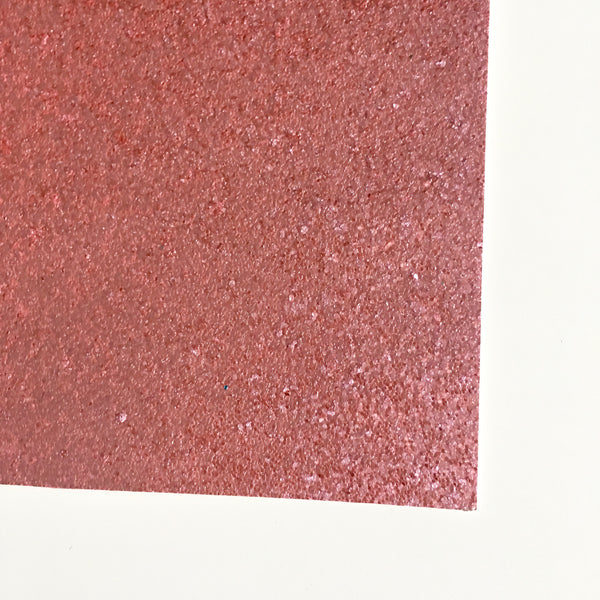 Pink Chunky Glitter Fabric Sheet