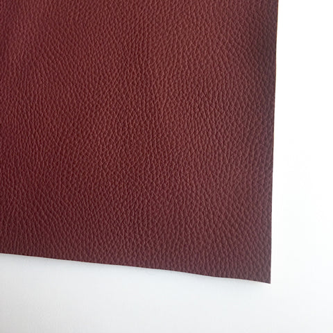 Merlot Textured Faux Leather