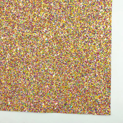 Fruity Pebbles 2.0 Specialty Glitter Fabric Sheet