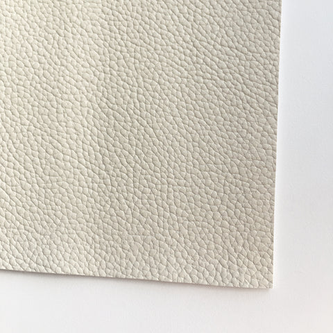 Bone Textured Faux Leather