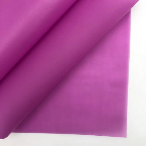 Wild Orchid Jelly Faux Leather