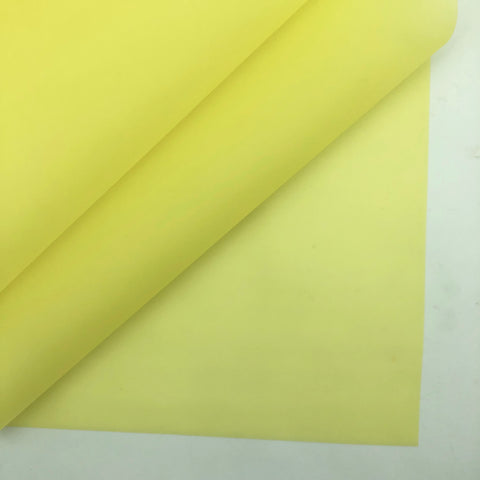 Daffodil Jelly Faux Leather