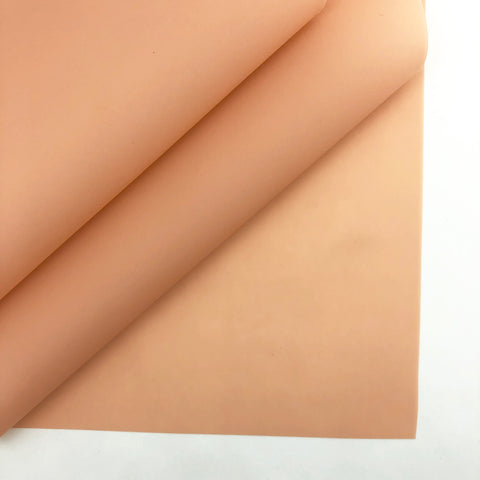 Apricot Jelly Faux Leather