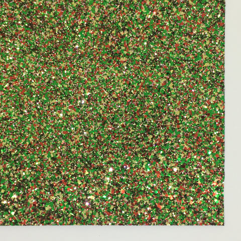 Mistletoe Specialty Glitter Fabric Sheet