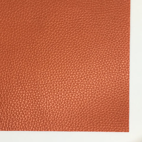 Red Pearlescent Textured Faux Leather
