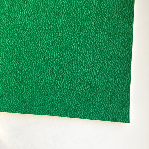 Kelly Green Textured Faux Leather