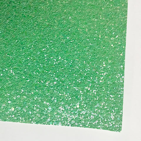 Greenery Shimmer Premium Glitter Fabric Sheet