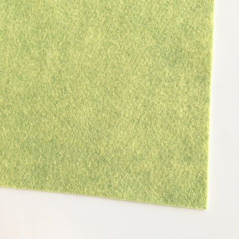 Pistachio Ice Cream Wool Blend Felt