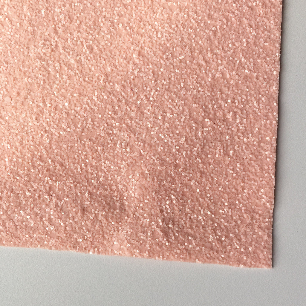 Perfectly Pink Glitter Fabric Sheet