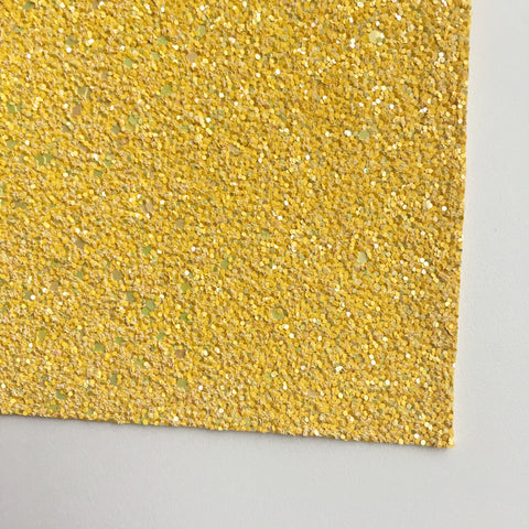 Sunshine Shimmer Premium Glitter Fabric Sheet