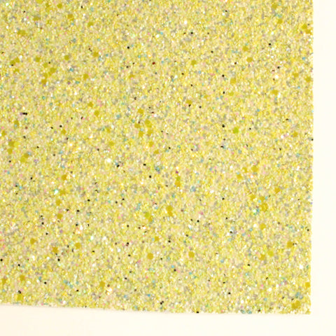Lemon Drop Specialty Glitter Fabric Sheet