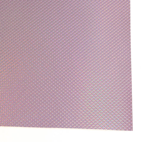 Lavender Metallic Mermaid Scale Faux Leather