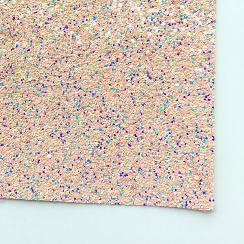 Spring Fling Specialty Glitter Fabric Sheet