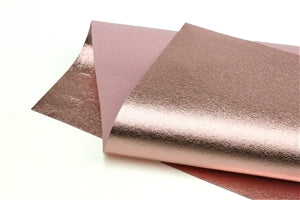 Rose Gold Metallic 100% Wool Felt - 9.5x12""