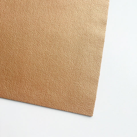 Copper Vegan Faux Leather