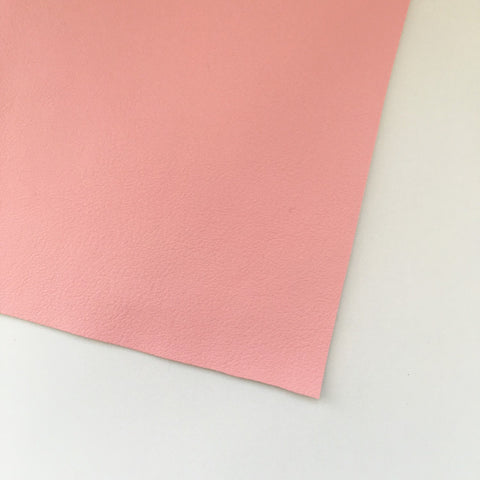 Light Pink Vegan Faux Leather