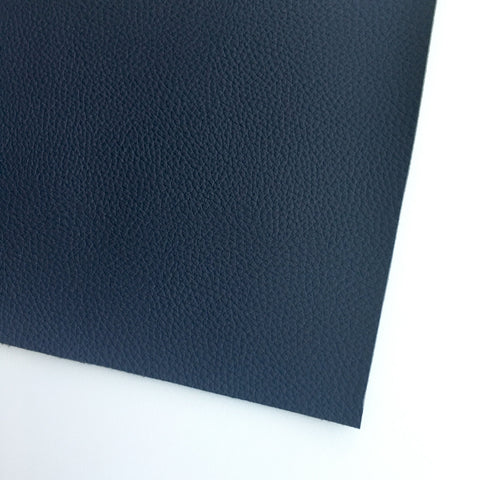 Midnight Textured Faux Leather