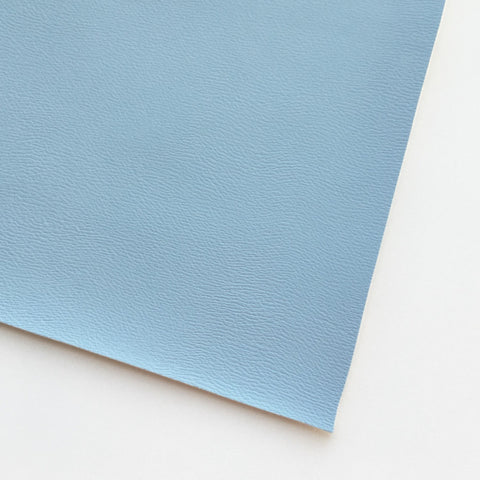 Baby Blue Vegan Faux Leather