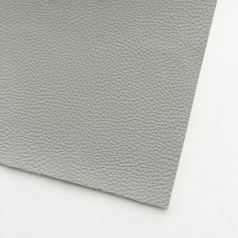 Elephant Gray Textured Faux Leather