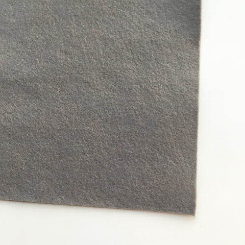 One Shade of Gray Wool Blend Felt