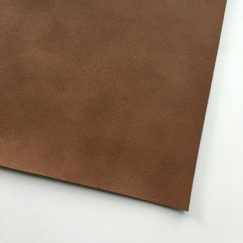 Coffee Vegan Faux Leather