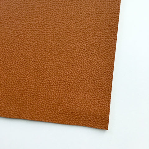 Cinnamon Textured Faux Leather