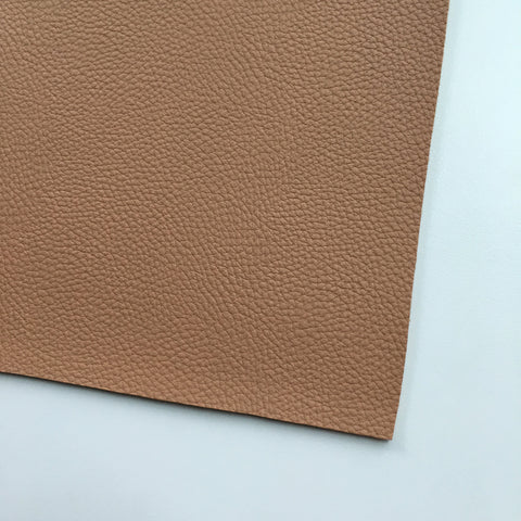Peanut Textured Faux Leather