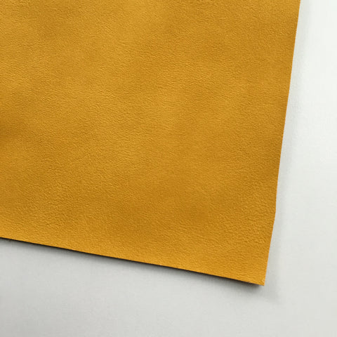 Mustard Vegan Faux Leather