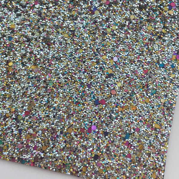 Hologram Specialty Glitter Fabric Sheet