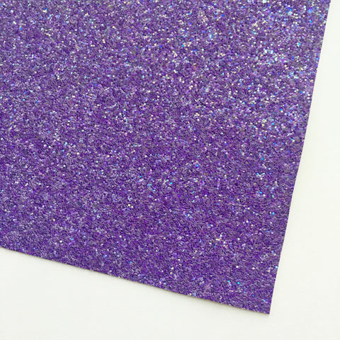 Grape Shimmer Premium Glitter Fabric Sheet