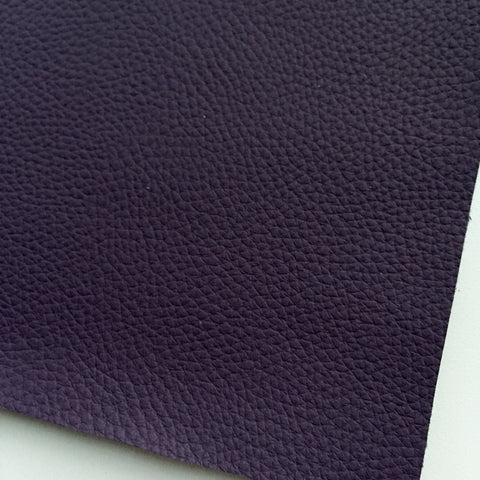 Amethyst Textured Faux Leather