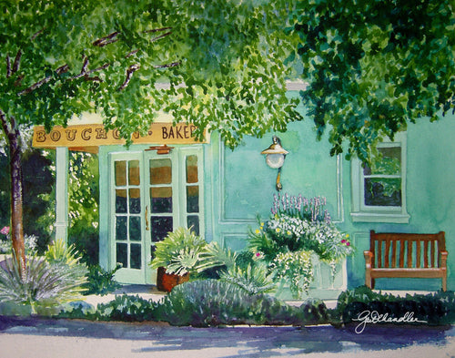 Bouchon Bakery Original Watercolor SOLD