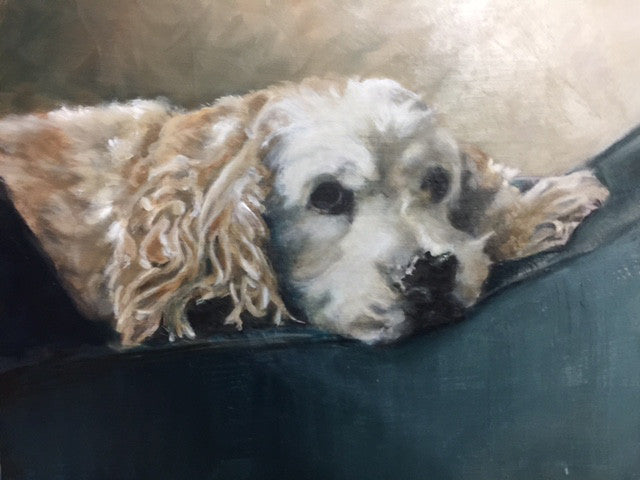 Freckles Original Oil Painting