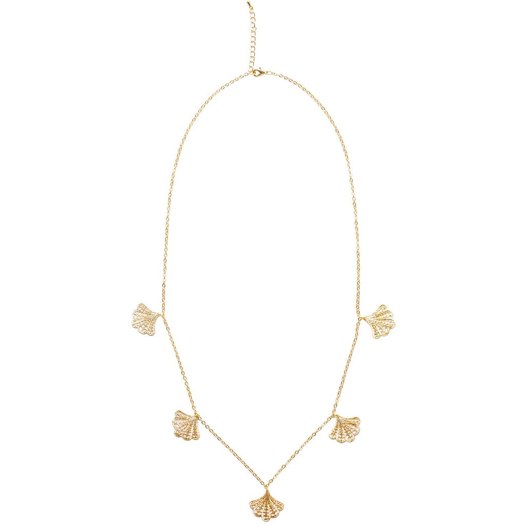 "Matte gold plated fan charm necklace - ""No. 1 Fan"""