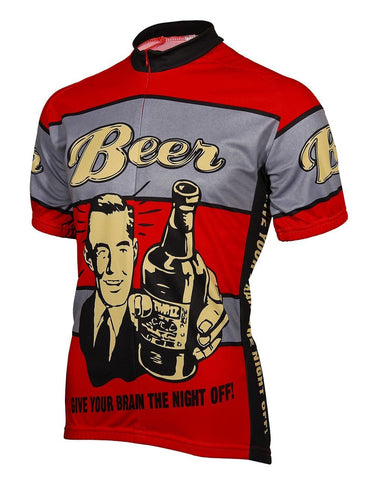 Red Beer Cycling Jersey