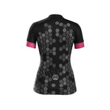NEW Honeycomb Women's Black Short Sleeve Jersey