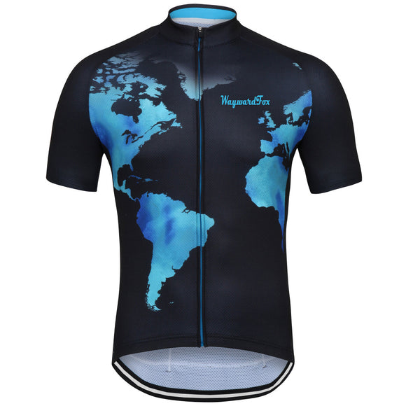 NEW Around the World Men's Cycling Jersey