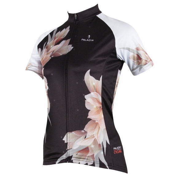 NEW Black Lily Women's Short Sleeve Cycling Jersey