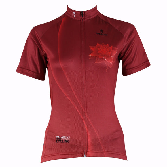 NEW Red Hot Fast Women's Cycling Jersey